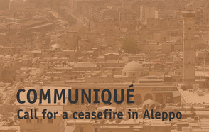 Call for a Ceasefire in Aleppo