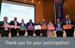 An account of the UCLG participation in the World Urban Forum