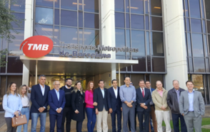 Brazilian Mayors visit Barcelona's mobility, solid waste treatment and technology experiences