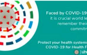 La secrétaire générale de CGLU, Emilia Saiz, en tant que membre du Mouvement universel pour la santé 2030, rappelle aux dirigeants mondiaux leurs engagements en faveur de la couverture universelle de santé.