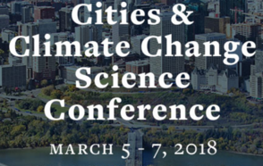 IPCC 2018 Cities and Climate Change Science Conference