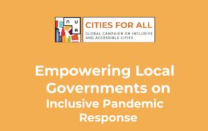 Cities Unite Around Inclusive Pandemic Response