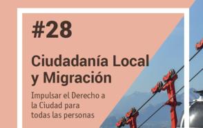 Lanzamiento de la Nota 28 de aprendizaje entre pares: Ciudadanía local inclusiva y migración