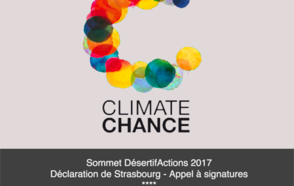 Sommet DésertifActions 2017 et Déclaration de Strasbourg : Appel à signatures