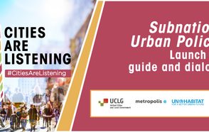 """#CitiesAreListening Experience brings together all spheres of government and the international community to hold a dialogue on subnational urban policy and launch the new publication """"Subnational Urban Policies: A Guide""""."""