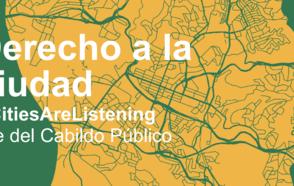 Derecho a la ciudad - CONGRESO CGLU / Eje Cabildo Público