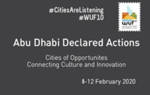 Abu Dhabu Declared Actions