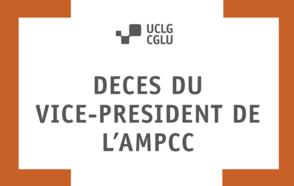 Décès du vice-président de l'AMPCC