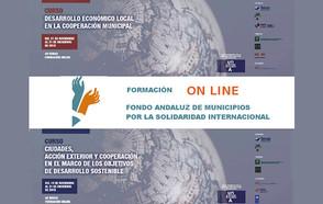 ¡Inscríbete a las acciones formativas sobre Ciudades, acción exterior, cooperación, ODS y desarrollo económico local!