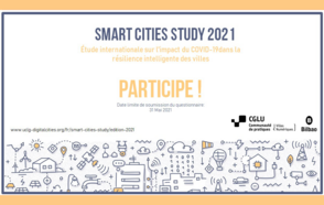 Lancement de l'étude « Smart Cities Study 2021 »
