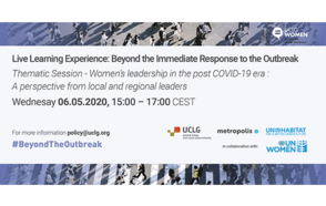 Women's leadership will be critical for rethinking the future in the post-COVID-19 era