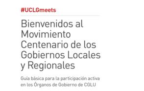 Bienvenidos al Movimiento Centenario de los Gobiernos Locales y Regionales