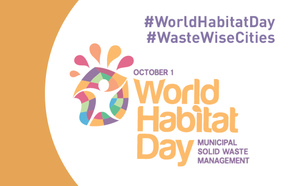 The World Habitat Day kicks off the month of Urban October