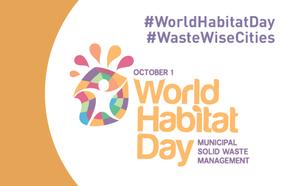 The World Habitat Day kicks off the month of Urban October