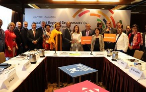 3rd Local and Regional Governments Report, Towards the Localization of the SDGs, launched at 2019 HLPF