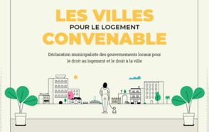Les villes pour le logement convenable:  Un appel à l