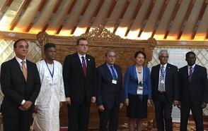 Roland Ries, Copresidente de CGLU ha presentado la Declaración de Estrasburgo en la COP13 sobre la lucha contra la desertificación