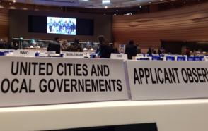 UCLG granted observer status before the IOM
