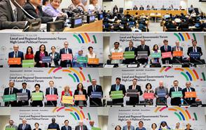 Les gouvernements locaux et régionaux ont apporté la perspective locale lors du Forum de haut niveau de 2018
