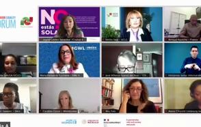 El Movimiento Municipalista Feminista hace un balance del Proceso de Beijing en el Foro Generación Igualdad en México