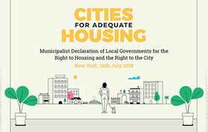 Cities for Adequate Housing : A call for action to ensure the right to housing