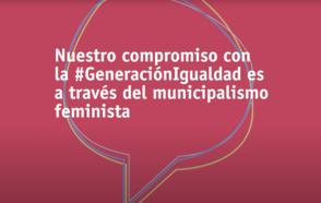 CGLU y el Movimiento Municipal Feminista se comprometen con la Igualdad Generacional