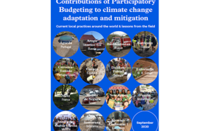 Contributions of Participatory Budgeting to Climate Change Adaptation and Mitigation: Current Local Practices Around the World & Lessons from the Field