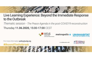 The Peace Agenda during and after COVID 19