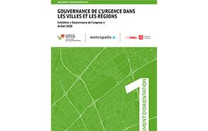 Gouvernance de l'urgence dans les villes et les régions - Document d