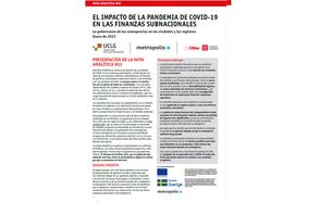 Nota Analítica #03 El impacto de la pandemia de covid-19 en las finanzas subnacionales
