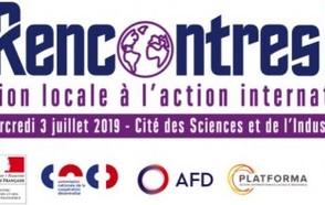 Rencontres de l'action internationale des collectivités territoriales