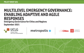 Multilevel Emergency Governance: Enabling Adaptive and Agile Responses – Launch of the fourth Policy Brief of the Emergency Governance Initiative