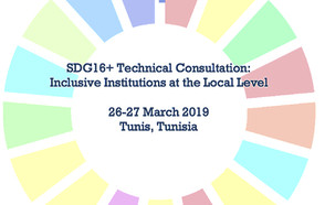 SDG 16+ Technical Consultation on Inclusive Institutions at the Local Level