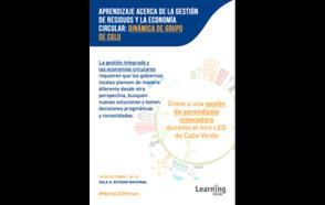 Aprendizaje acerca de la Gestión de Residuos y la Economía Circular: dinámica de grupo de CGLU