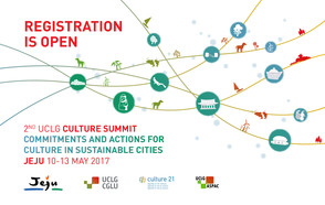 UCLG Culture Summit in Jeju: Online registrations are now open