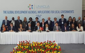 Local governments are crucial for the implementation of the global development agendas