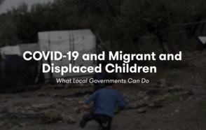 UNICEF launches a toolkit for local responses to protect displaced children in COVID-19