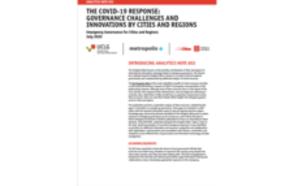 La gobernanza de las emergencias en las ciudades y las regiones Nota #02