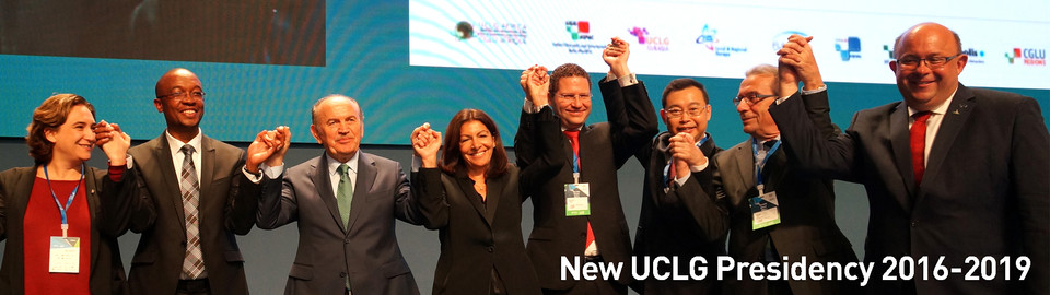 New Presidency of UCLG 2016-2019
