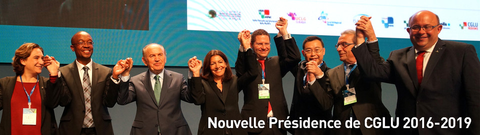 Nouvelle Présidence de CGLU 2016-2019