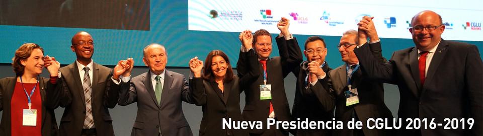 Nueva Presidencia de CGLU 2016-2019