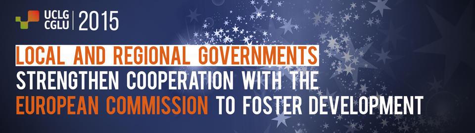 EU-UCLG: a strategic partnership for development