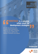 Heritage: a valuable urban asset for development strategies