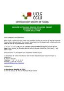 Circulaire 4: Réunion de travail 5 juin 2013, Lyon