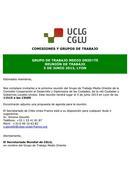 Circular 4: Reunión de trabajo 5 de junio 2013, Lyon