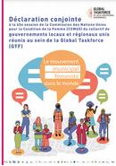 Déclaration conjointe à la 65e session de la Commission des Nations Unies pour la Condition de la Femme