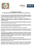 La Declaración de Tánger  - Los gobiernos locales y regionales se han unido a la conversación