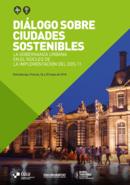 Diálogo sobre ciudades sostenibles