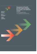 Documento de Posición de CGLU sobre la Eficacia de la Ayuda y los Gobiernos Locales