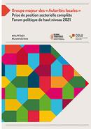 Groupe majeur des « Autorités locales » Prise de position sectorielle complète - Forum politique de haut niveau 2021